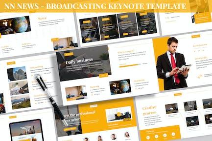 NN News - Broadcasting Keynote Template