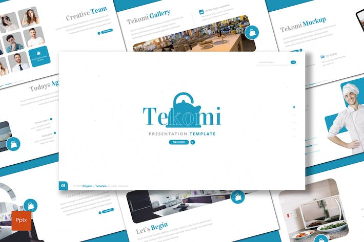 Thumbnail for Tekomi - Powerpoint Template