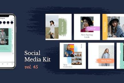 Social Media Kit (Vol.45)