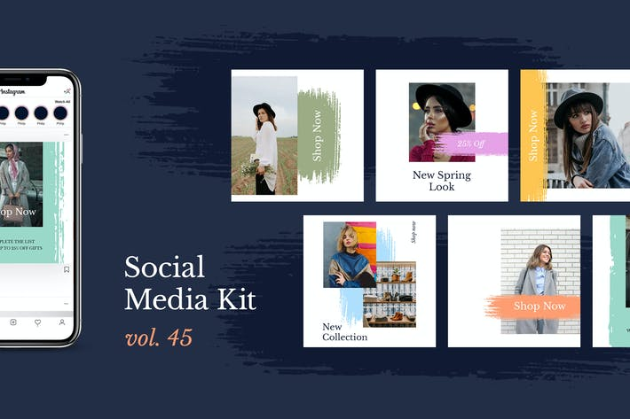 Thumbnail for Social Media Kit (Vol.45)