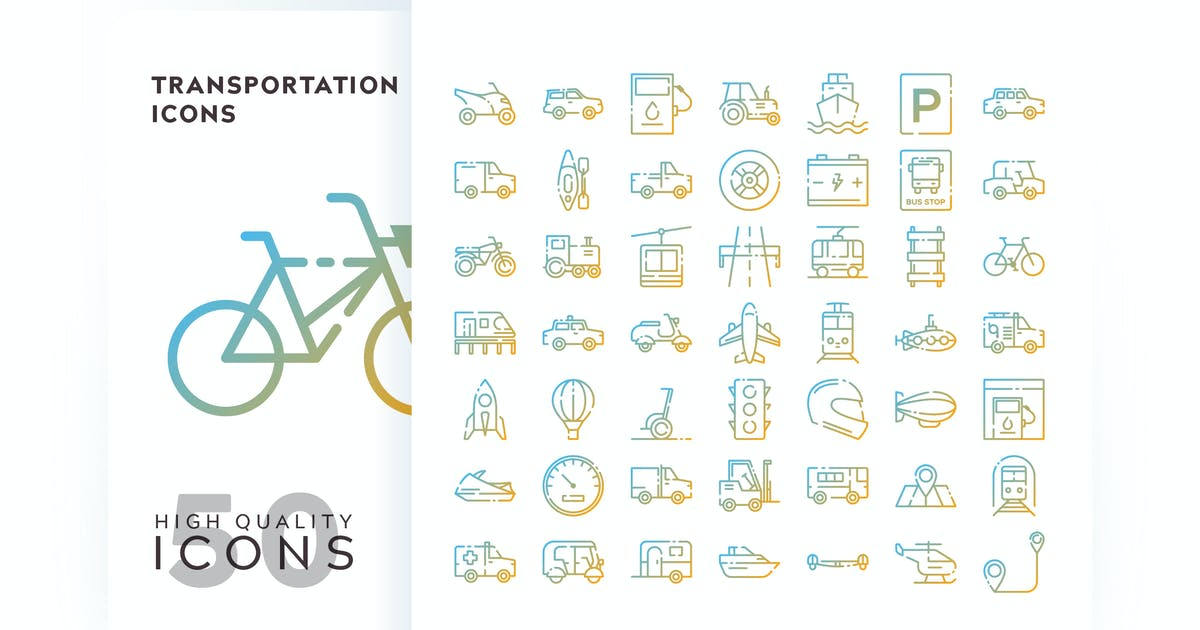 Download TRANSPORTATION OUTLINE GRADIENT by subqistd