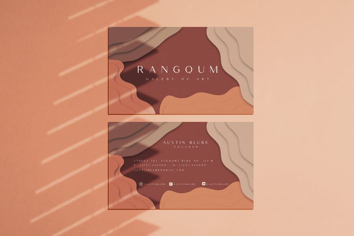 Thumbnail for Rangqum Business Card