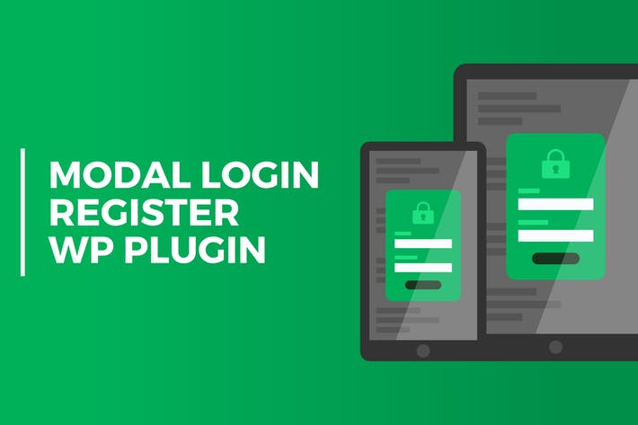 Thumbnail for Modal Login Register Forgotten Wordpress Plugin