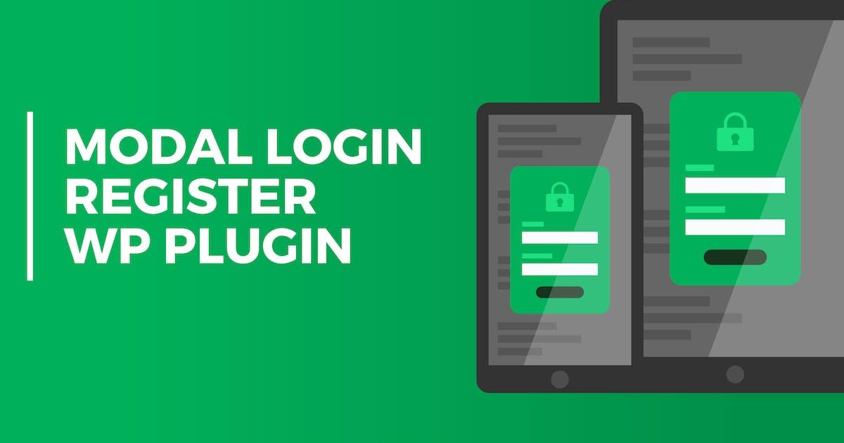 Download Modal Login Register Forgotten Wordpress Plugin by PressApps