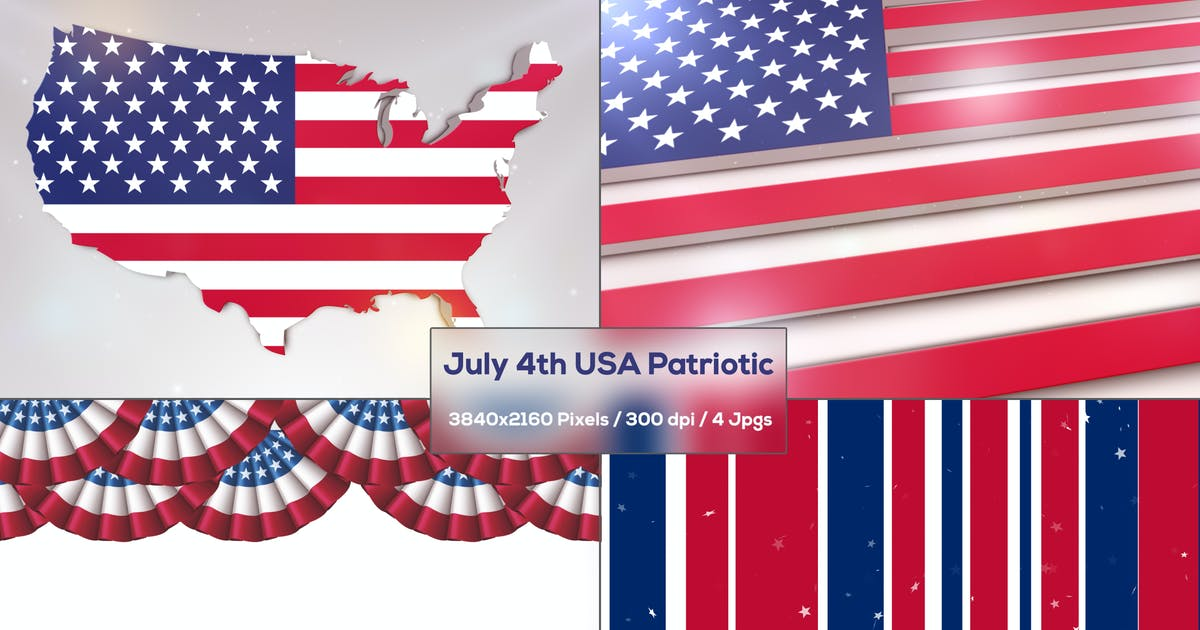 Download July 4th USA Independence Day Backgrounds by StrokeVorkz