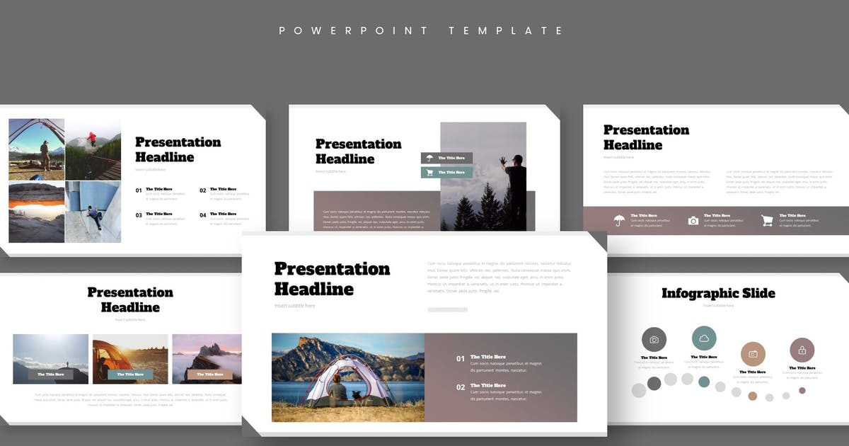 Download Camping - Powerpoint Template by aqrstudio