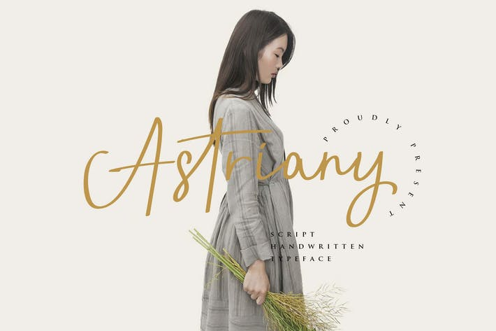 Thumbnail for Astriany Yp - Script Font