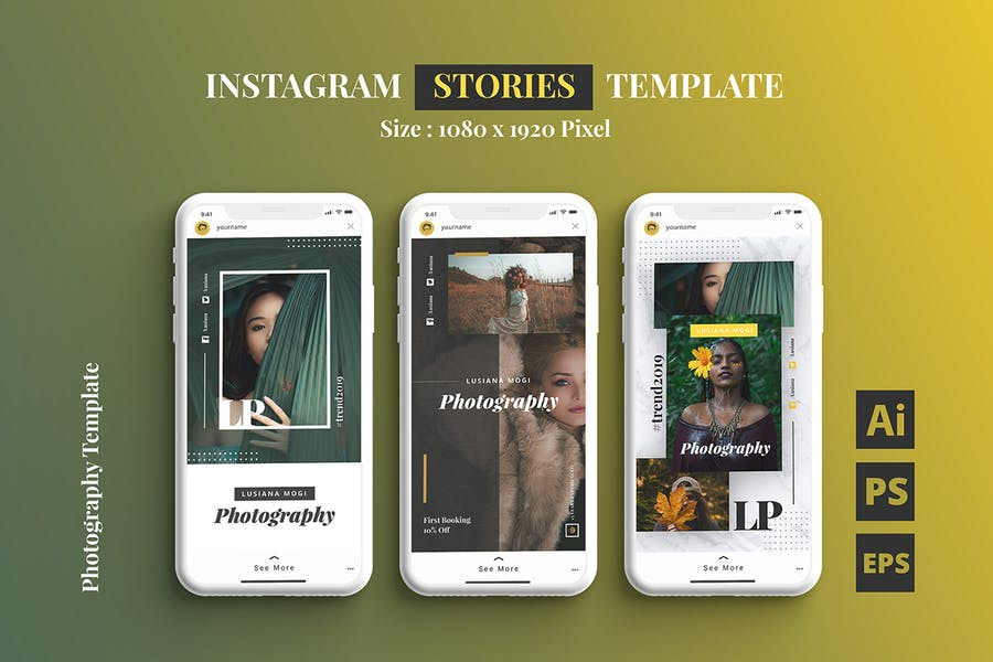 Photography Instagram Stories Template