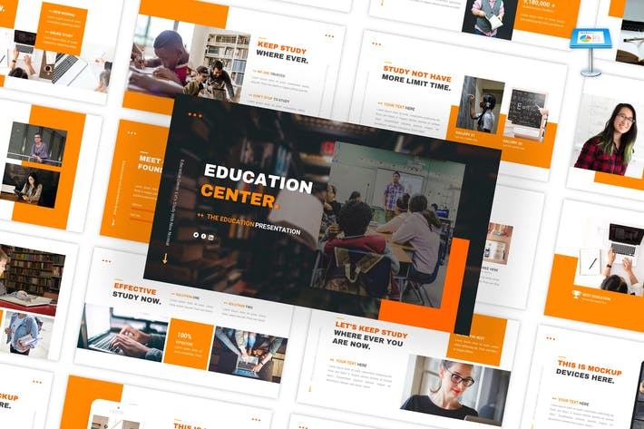 Thumbnail for Education Center - Multipurpose Keynote Template