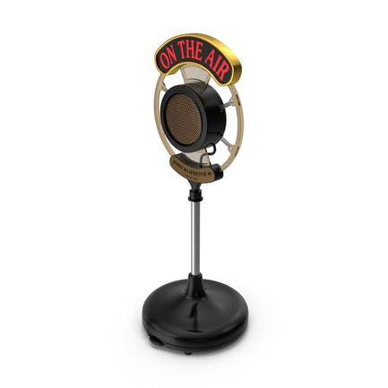 Radio Broadcast Microphone