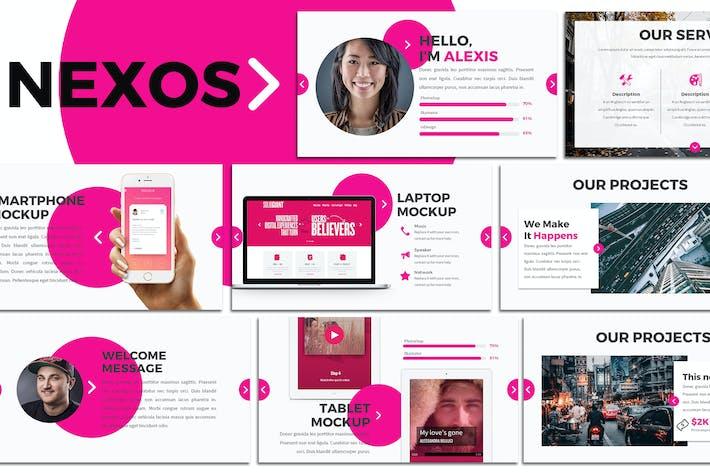 Nexos - Creative Keynote Template