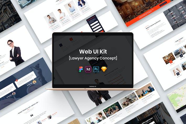 Lawyer Agency Web UI Kit