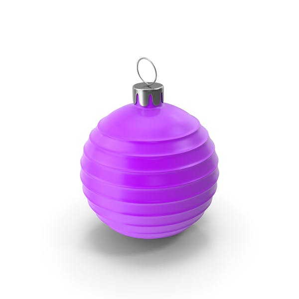 Christmas Tree Toy Purple