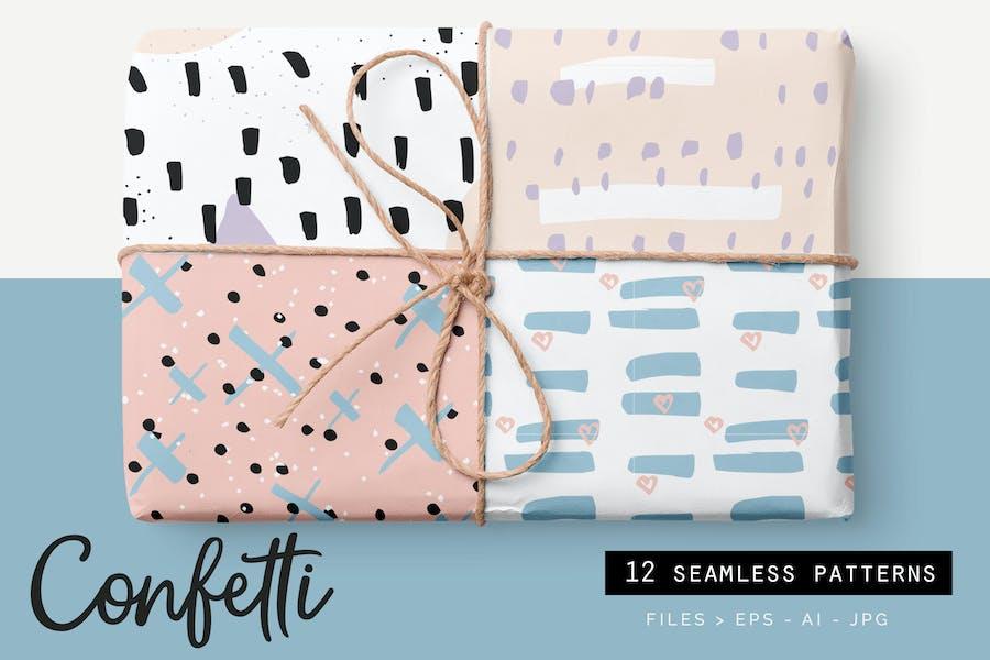 Confetti Style Patterns
