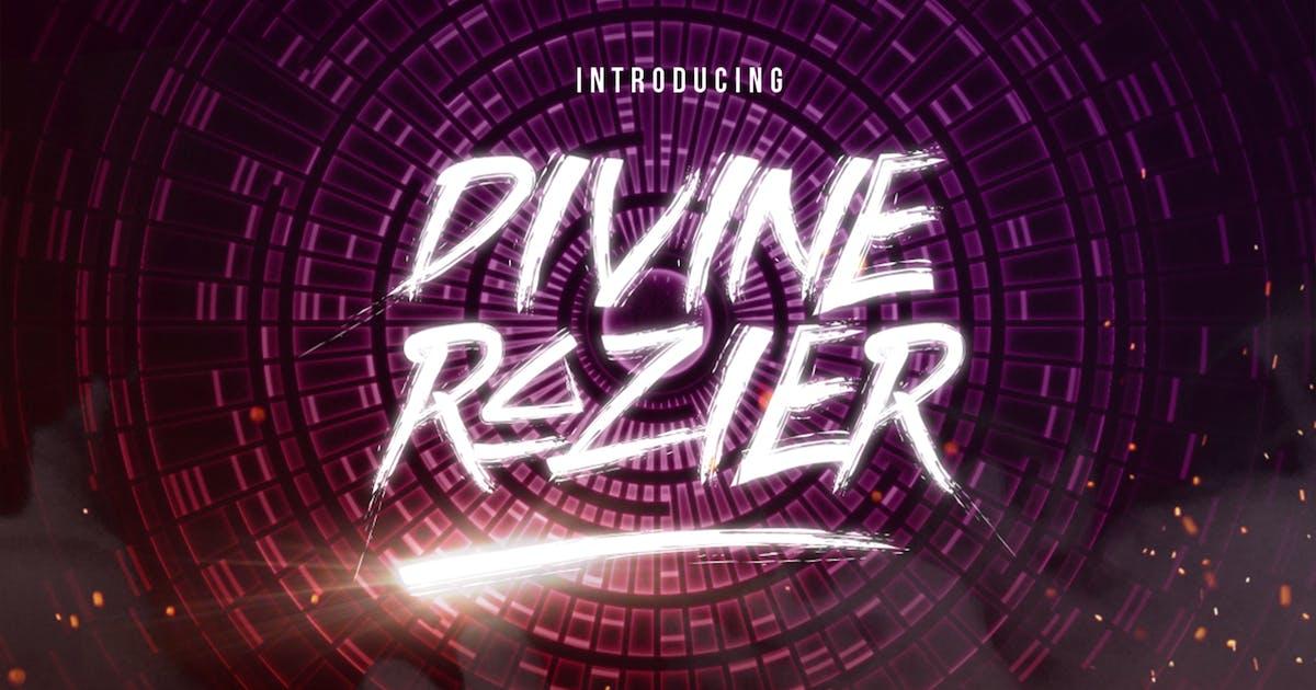Download Divine Razier Font by ovozdigital
