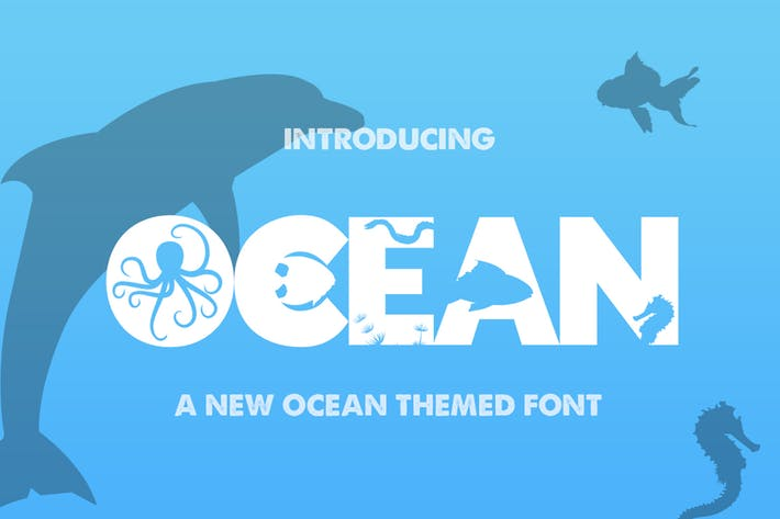 Thumbnail for The Ocean Font