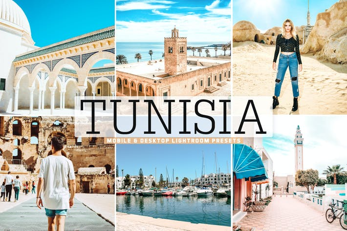 Thumbnail for Tunisia Mobile & Desktop Lightroom Presets