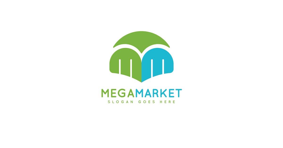 Mega Market Logo Template by Pixasquare