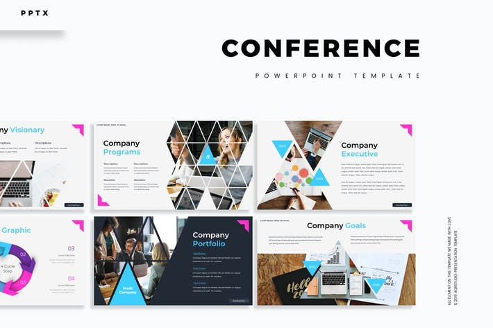 Thumbnail for Conference - Powerpoint Template