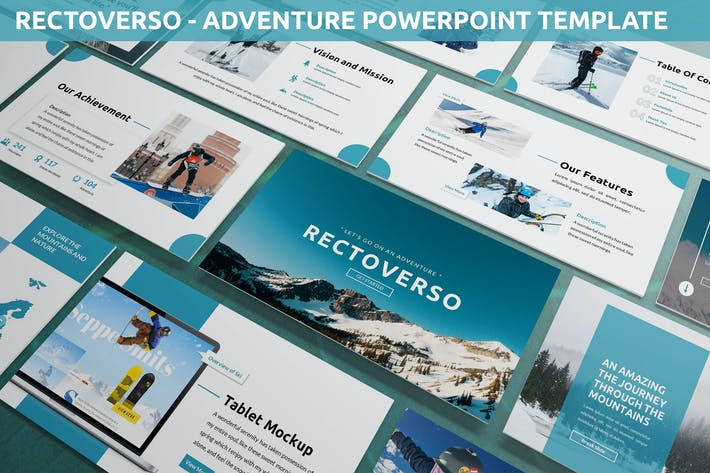 Rectoverso - Adventure Powerpoint Template