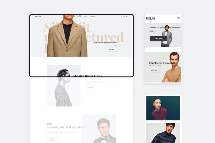 Thumbnail for Helas - Minimal Shopify Theme