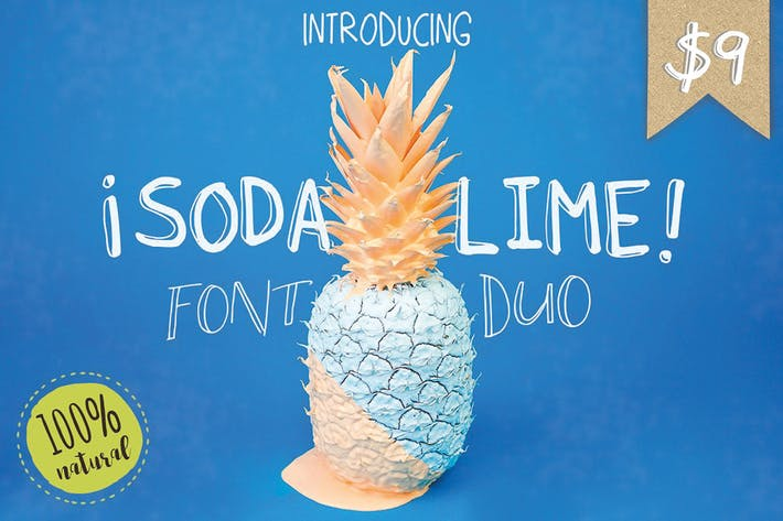 Thumbnail for Soda Lime Font