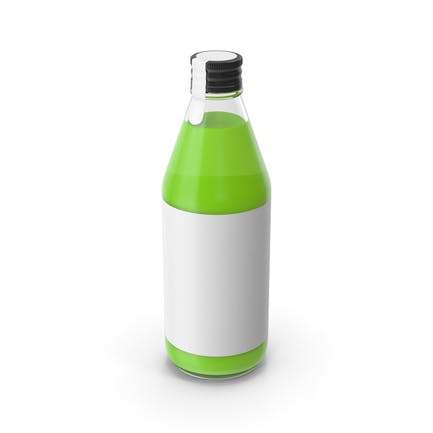 Juice Bottle Green