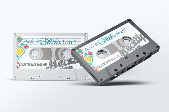 Thumbnail for Cassette Tape Mock-Up