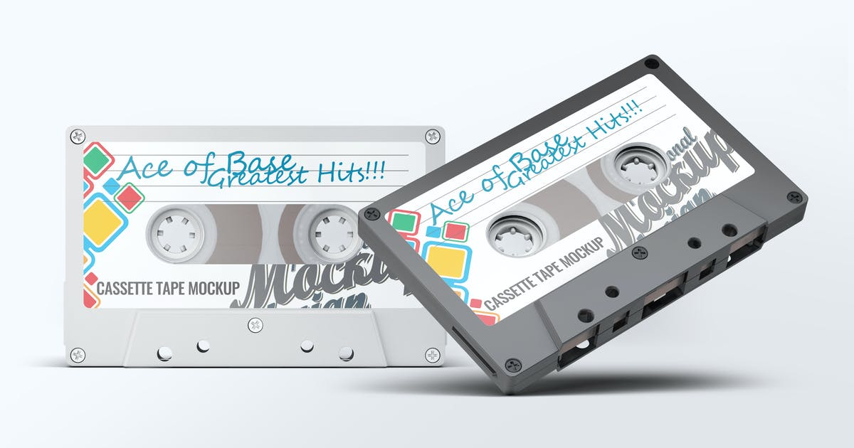 Download Cassette Tape Mock-Up by L5Design