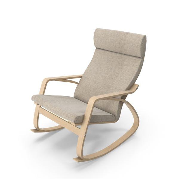 Rocking Chair Brown