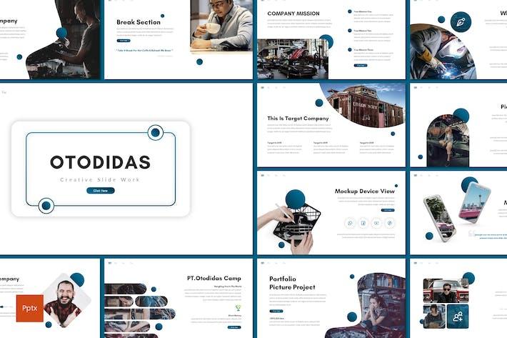 Otodidas - Creative Powerpoint Template