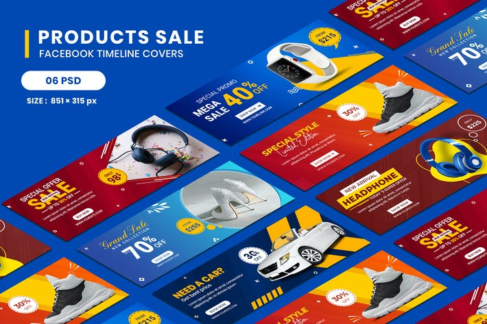 Thumbnail for Products Sale Facebook Timeline Covers