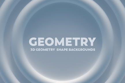 3D Geometrie-Shape-Hintergründe