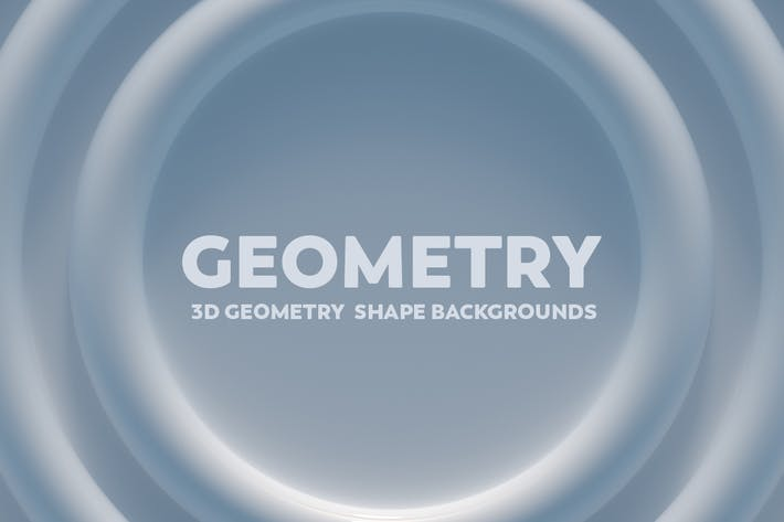 Thumbnail for 3D Geometry  Shape Backgrounds