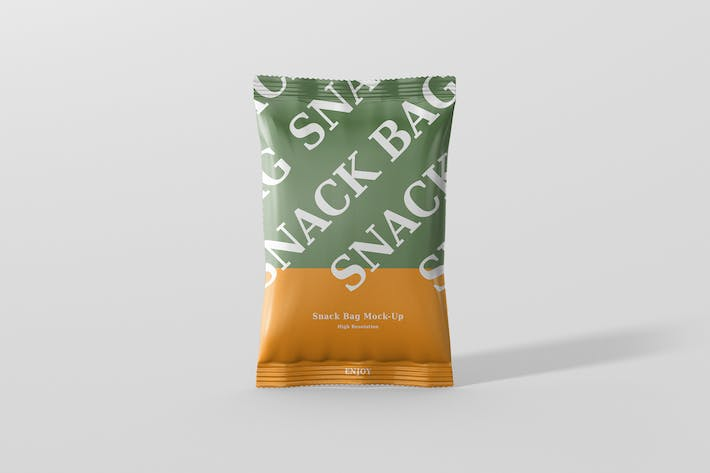 Thumbnail for Snack Foil Bag Mockup