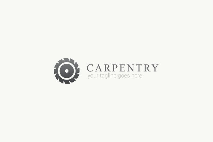 Thumbnail for Carpentry - Wood Work Logo Template