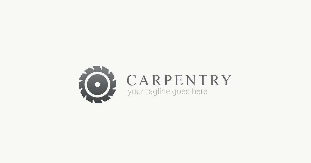 Download Carpentry - Wood Work Logo Template by ThemeWisdom