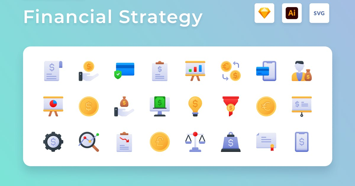 Download FInancial Strategy by usedesignspace
