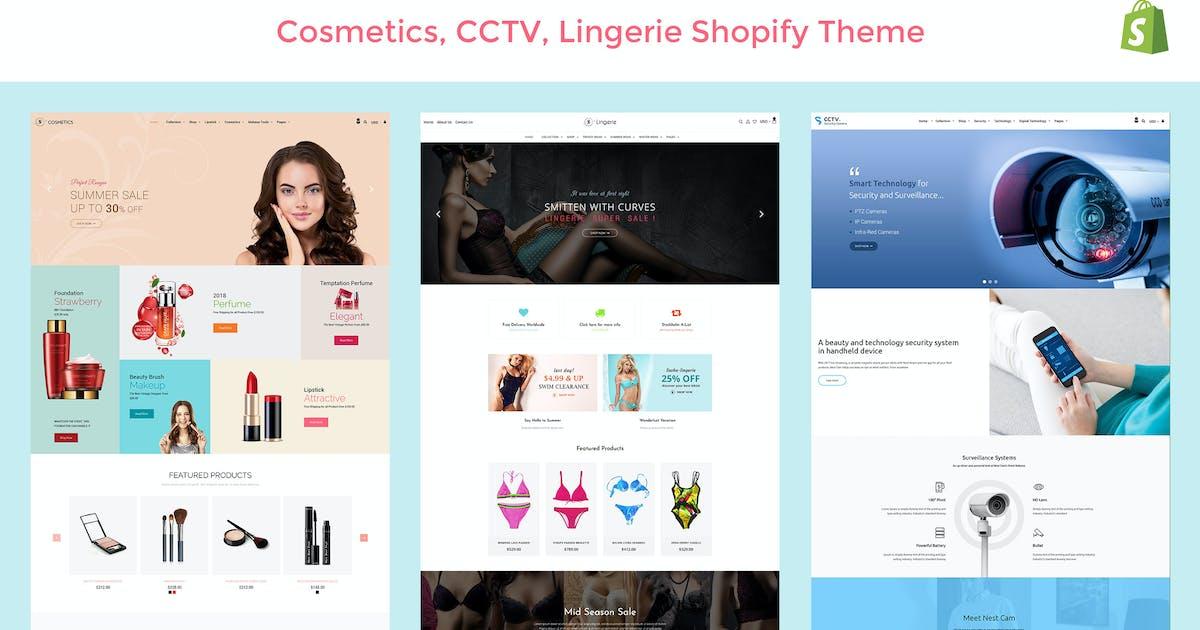 Sasha - Cosmetics, CCTV, lingerie Shopify Theme by designthemes on Envato  Elements