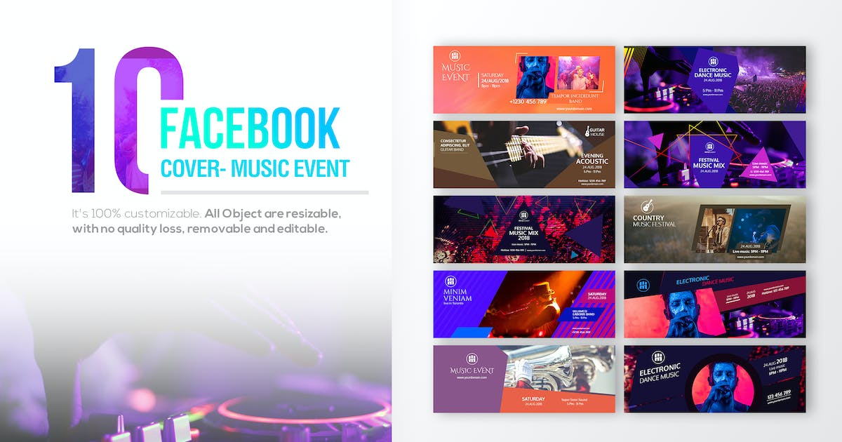 Download 10 Facebook Cover - Music Event by Unknow