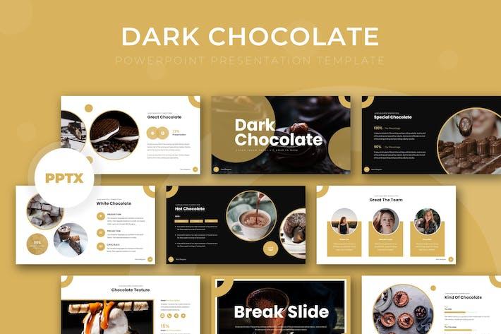 Thumbnail for Темный шоколад - Powerpoint Шаблон