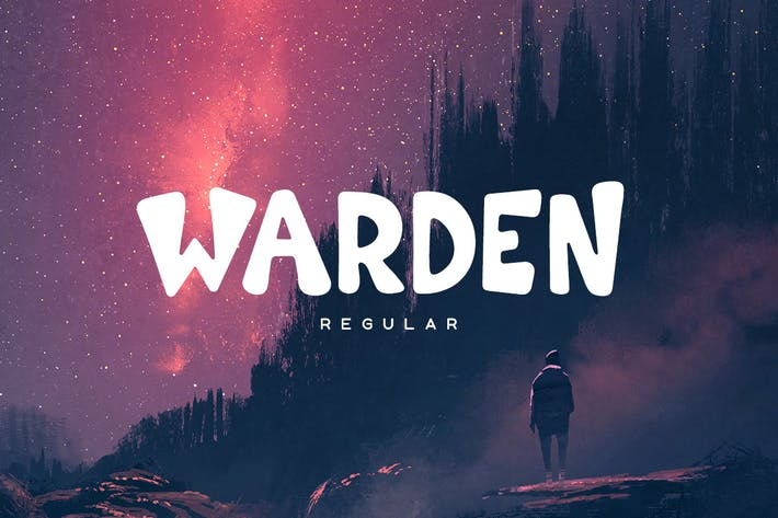 Thumbnail for Warden Regular