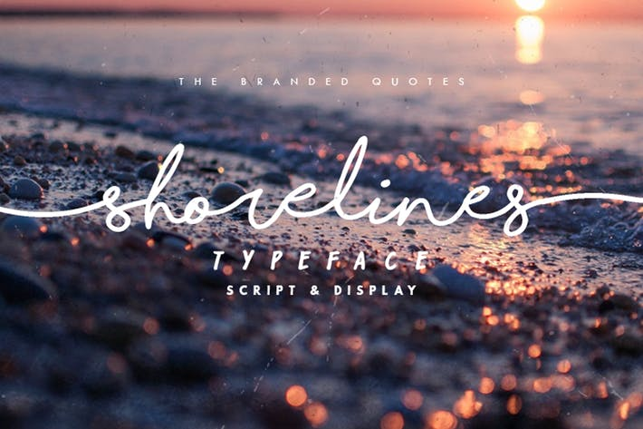 Thumbnail for Shorelines Typeface