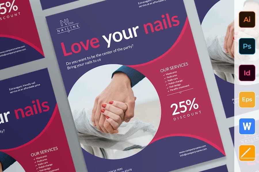 Nail Studio Poster