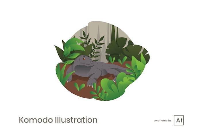 Thumbnail for Ilustración de Komodo