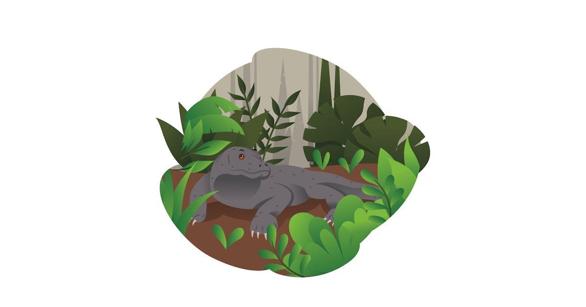 Download Komodo Illustration by visuelcolonie