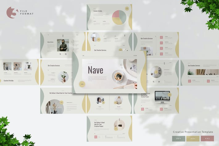 Thumbnail for Nave - Creative Presentation Template
