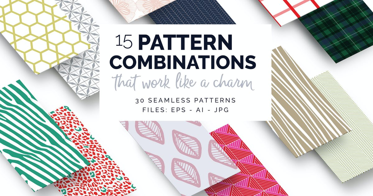 Download Pattern Combinations by Youandigraphics