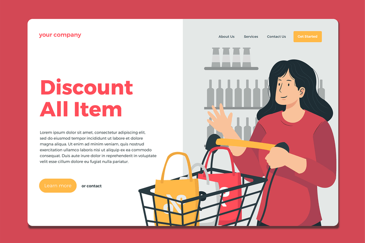 Grocery - Landing Page
