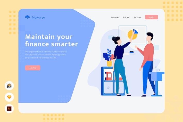 Thumbnail for Maintain your finance smarter - Website Header